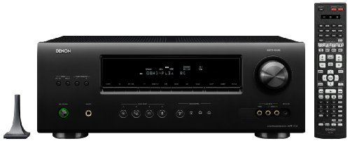 Denon AVR-1712 A/V Surround Receiver (Black)