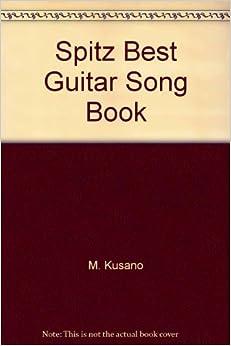 Amazon.com: Spitz Best Guitar Song Book (9784811442655): M