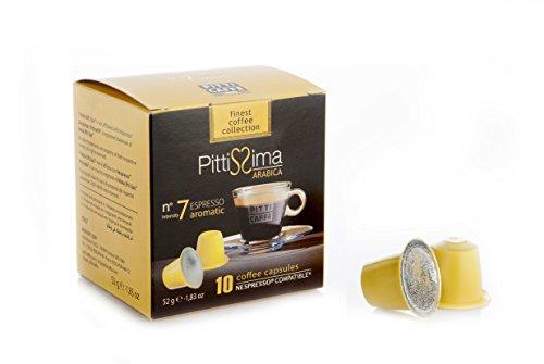 Pitti Caffe Arabica Nespresso Kapsler Capsules (Pack of 10)