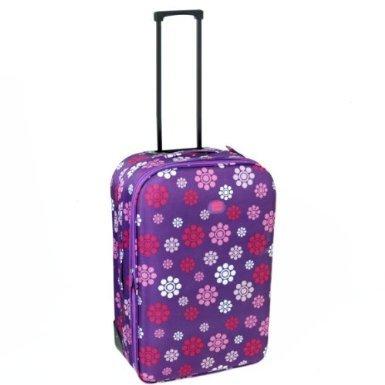 Karabar Cabin Approved Lightweight Suitcase (Daisy Purple) by Karabar