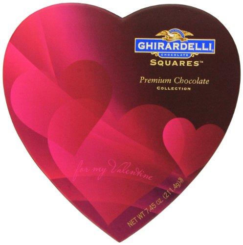 Ghirardelli Valentine's Chocolate Squares, Premium