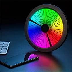 Thinkgeek Chromatic: Designer LED Color Spectrum Clock by Techno Geek