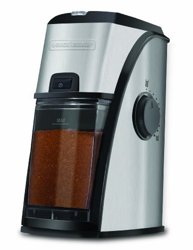 BLACK+DECKER CBM210C Burr Mill, Stainless Steel