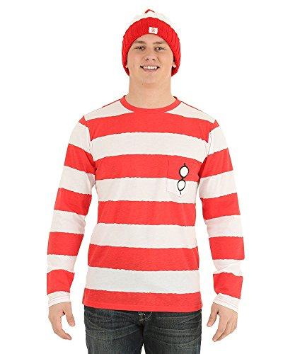 Where's Waldo Long Sleeve I Am Waldo Shirt 3X