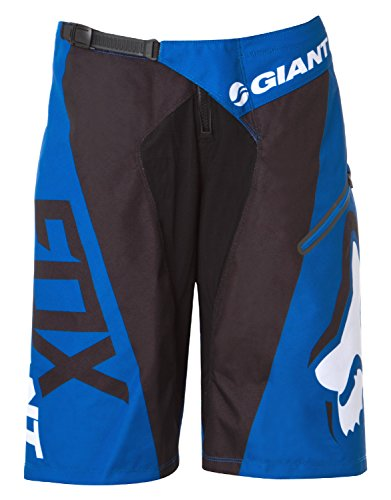 pantalon-corto-btt-fox-2015-giant-demo-dh-azul-36-cintura-eu-50-azul