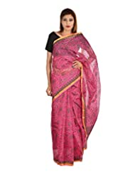 Asmara Collection Women's Cotton Silk Saree (SARARH00007, Multicolor)