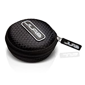 Earbuds Travel Case for JLab JBuds, Black