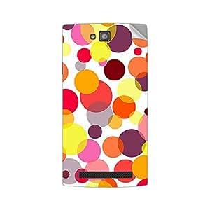 Garmor Designer Mobile Skin Sticker For XOLO Q2000 - Mobile Sticker