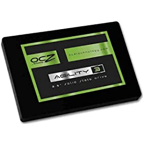 "90GB OCZ Agility 3 2.5"" SATA III MLC Internal Solid State Drive SSD (AGT3-25SAT3-90G) $54.99 AR"