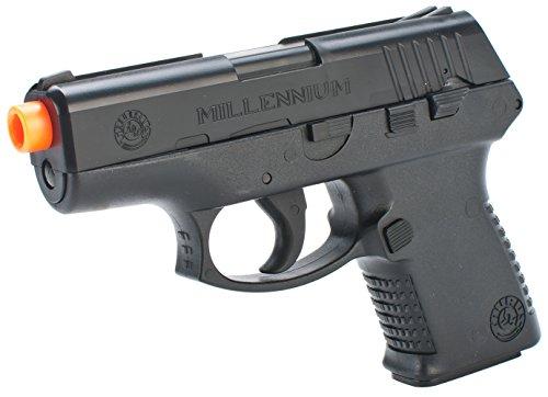 Taurus Millennium PT-111 Spring Powered Pistol, Black (Airsoft Machine Gun Holster compare prices)