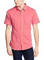 Columbia Camisa Hombre Lookout Point Knit (Rosa)