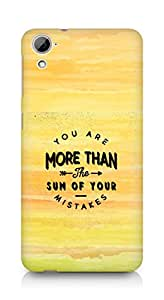 AMEZ you are more than the sum of your mistakes Back Cover For HTC Desrie 826