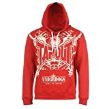 Tapout Underdogs Hoody Mens Red Medium