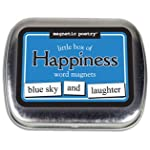 Little Box of Happiness Magnetic Poetry Word Magnets
