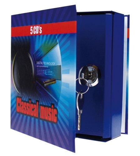 Idena 337178 - Idena CD- Geldkassette, 13,8 x 12,5 x 4 cm,...