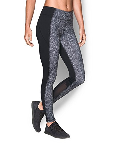Under Armour Women's UA Mirror Printed Leggings Small Black