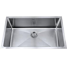 """Single Bowl Kitchen Sink Size: 32"""" W x 18"""" D x 10"""" H"""