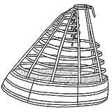 1865 Elliptical Cage Crinoline Sewing Pattern