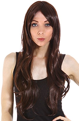 Simplicity Stylish Lady's Long Wavy Brown Women's Wig (Monster Hot Deals compare prices)