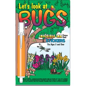 Let's Look at Bugs Invisible Ink Book and pen #2