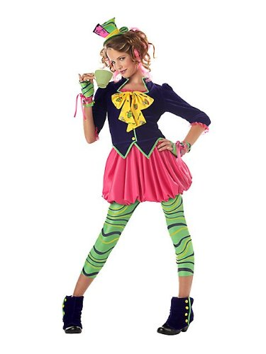 [The Mad Hatter Costume - X-Large] (Kids Mad Hatters Tea Party Costumes)