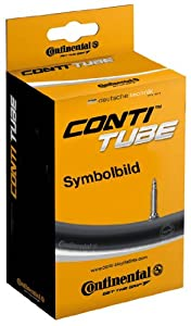 Buy Continental Light 80mm Presta Valve Tube, Black, 700 x 18-25cc by Continental