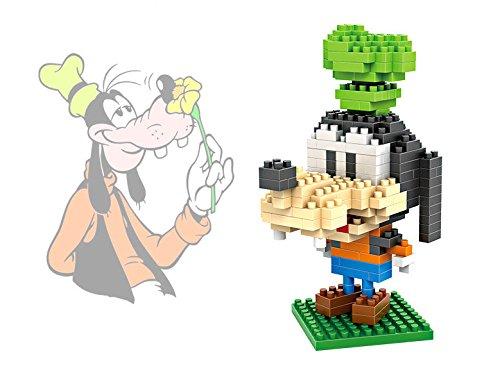 LOZ Minecraft Style Diamond Blocks Nanoblock Toy Set Disney series Goofy
