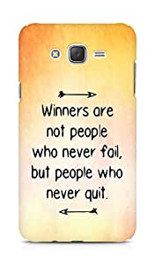 AMEZ but people who never quit Back Cover For Samsung Galaxy J7