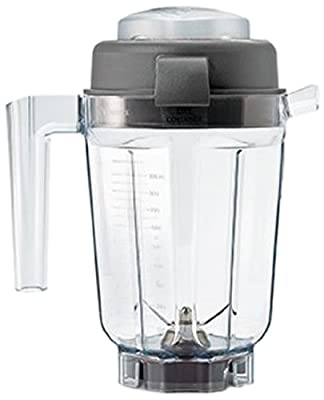 Vitamix 32-Ounce Dry Grains Container with Tamper, Lid, Cookbook, and Blades Included