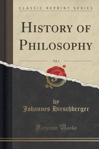 History of Philosophy, Vol. 1 (Classic Reprint)