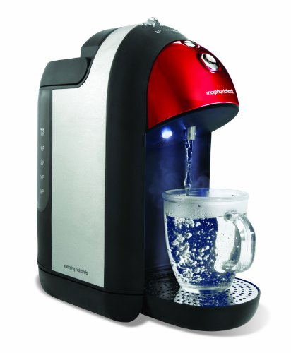 Morphy Richards Meno One Cup 43926 Hot Water Dispenser, Red