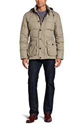 Faconnable Tailored Denim Men's Down Jacket