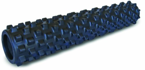 Rumble Roller Extra Firm Black - Full Size 15cm x 77.5cm