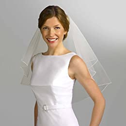 Isaac Mizrahi for Target® Short Veil - Stucco (Champagne)