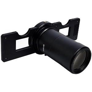 Opteka HD² Slide Copier for Canon Canon EOS 7D, 6D, 5D, 1DX, 70D, 60D, 50D, 40D, T5i, T4i, T3i, T3, T2i and SL1 Digital SLR Cameras