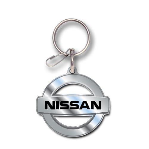 Amazon.com: Nissan Logo Enamel Key Chain