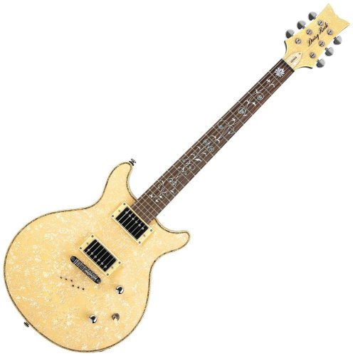 Daisy Rock Stardust Elite Venus - Vintage Ivory Pearl Electric Guitar