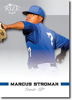 2012 RIZE Draft Prospects Card #86 Marcus Stroman - Toronto Blue Jays (Rookie / Prospect / 1st Round) MLB Trading Card