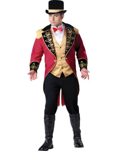 Adult-Costume Circus Ring Master Adult Costume Xxl Halloween Costume