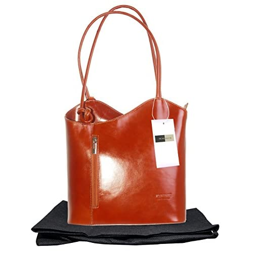 Italian Leather, Handbag, Shoulder Bag or Back Pack. Medium and Large Versions. Includes a Protective Storage...