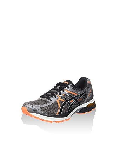 Asics Sneaker Gel-Flux 3 grau/orange/schwarz