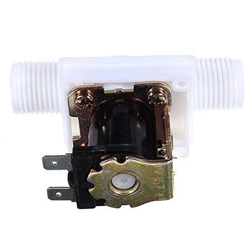 1/2 inch DC 12V 250mA Electric Solenoid Valve Flow Switch (Gas Operated Dryer compare prices)