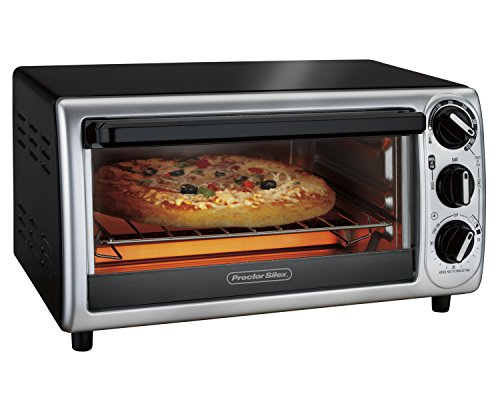 Proctor Silex 31122 Modern Toaster Oven, Black (Small Conventional Oven compare prices)