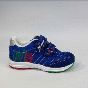 Naturino - Naturino Sport Scarpe Bambino Blu Strappi 423 - Blu, 24