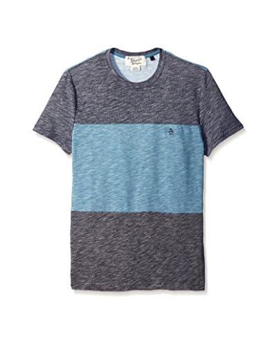 Original Penguin Men's Paneled Fleck Jersey T-Shirt