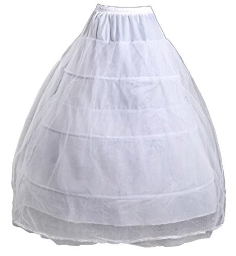 Eyekepper A-Line Full Gown Floor-Length Slip Gauze Wedding Petticoats