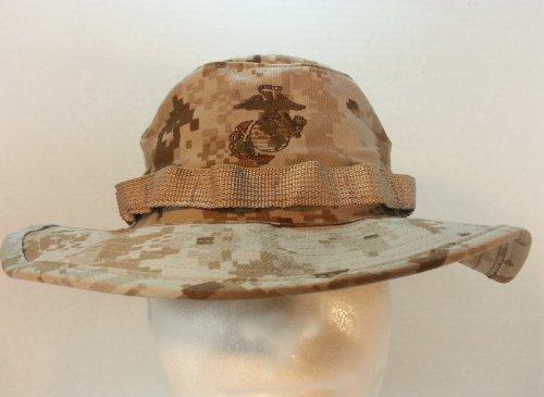Fantastic Deal! USMC DIGITAL DESERT MARPAT (MARINE PATTERN) BOONIE HAT FIELD COVER USMC ISSUE