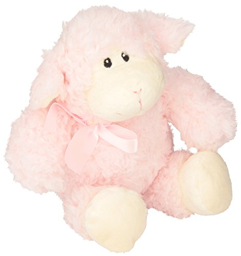 Stephan Baby Ultra Soft and Huggable Woolly Lamb, Pink, 11""