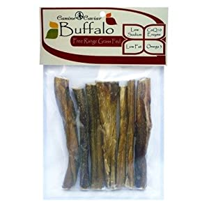 Canine Caviar 7-Piece Buffalo Bully Stix from Canine Caviar Pet Foods Inc.