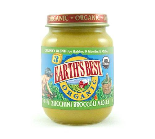 Earths Best Organic Baby Food Ingredients
